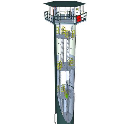 01-07-21_APRETC_tower.jpg - Construction starts on Australia's first renewable energy training tower